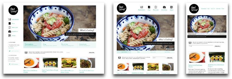 Responsive webdesign : exemple de site