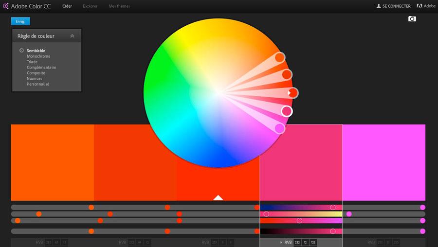 logiciel choix de couleurs