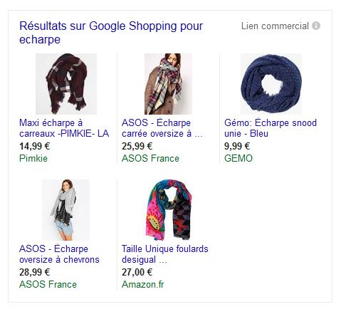 Google Shopping Grenoble