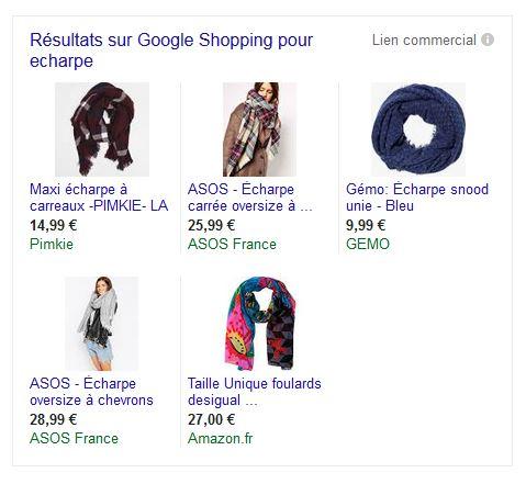 Google Shopping Grenoble