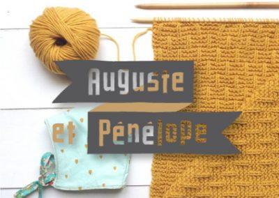 Site e-commerce Auguste et Pénélope