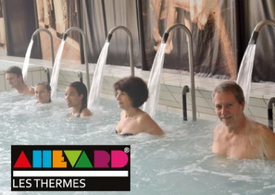 Communication cross canal Thermes d'Allevard