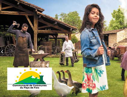 Site web WordPress Communauté de communes Pays de Foix