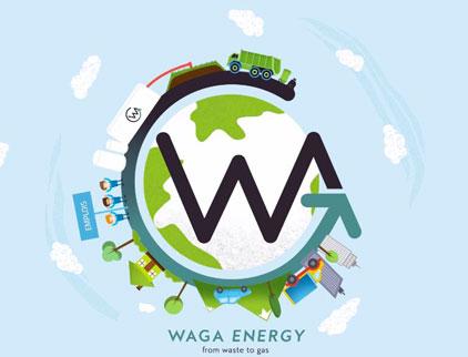 Site internet start-up Waga Energy