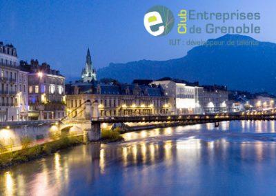 Site internet Association Club des Entreprises de Grenoble