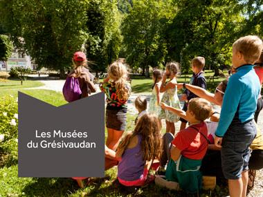 Communication print et web des musées du Grésivaudan