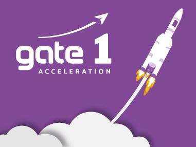 Communication web et print de Gate 1